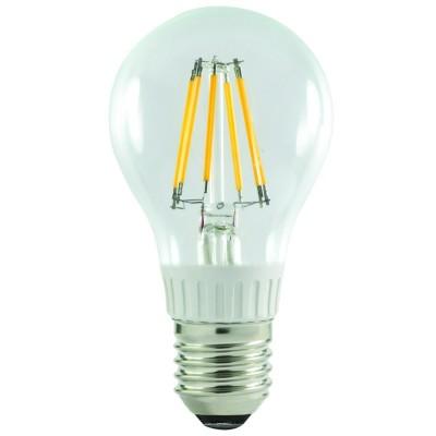 LAMPADA LED GOCCIA 6W=47W E27 FILAMENTO 3000K A60 ...
