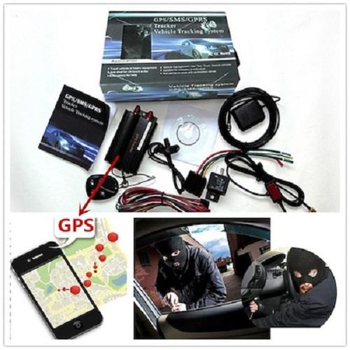GPRS LOCALIZZATORE SATELLITARE ANTIFURTO AUTO MOTO TK103-B TRACKER GPS GSM